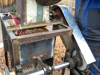 Молотилка кедрового ореха своими руками